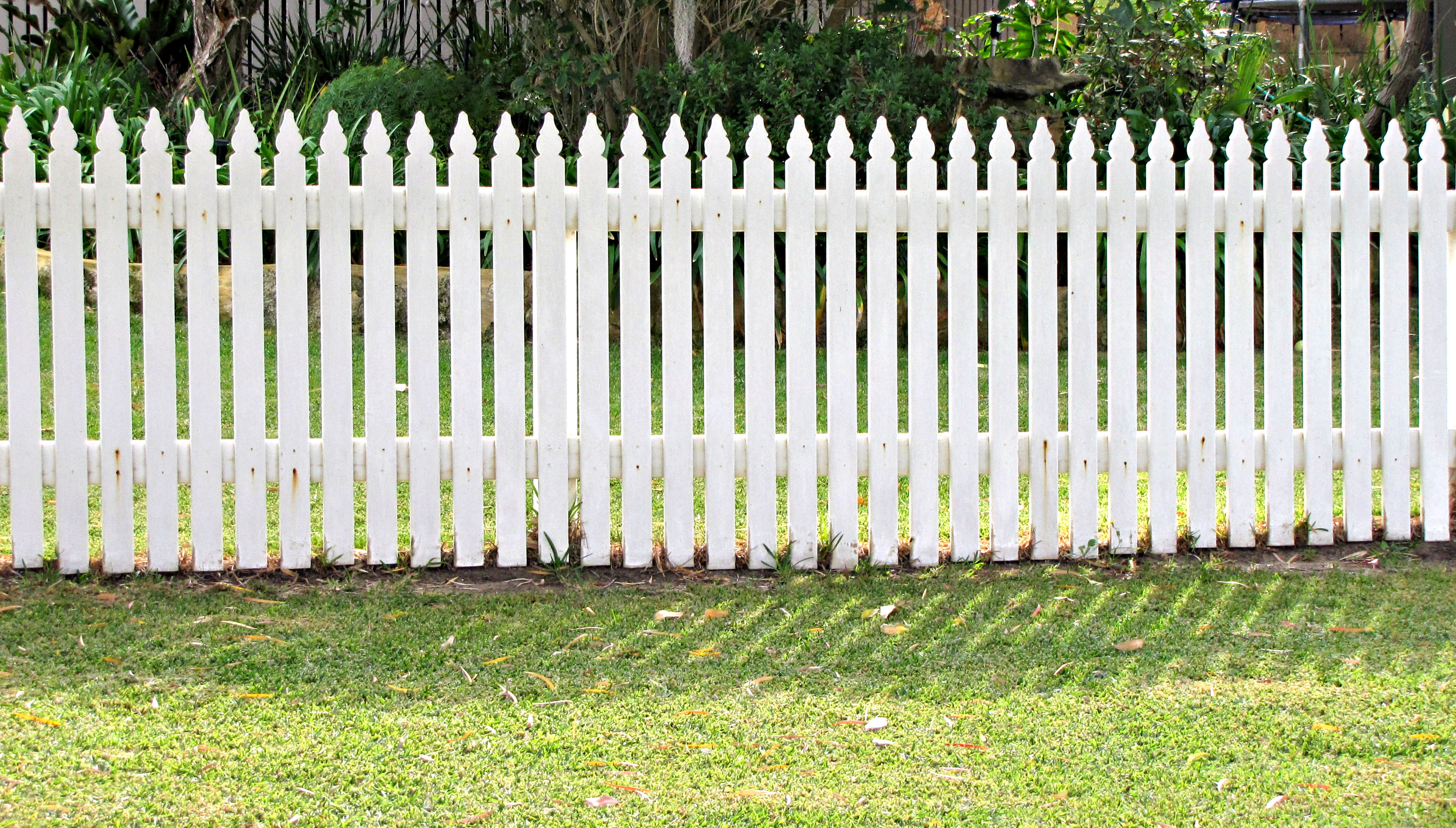 White Picket Fence Home How To Make Fence