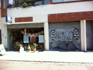 A shop in Fitzroy, Melbourne