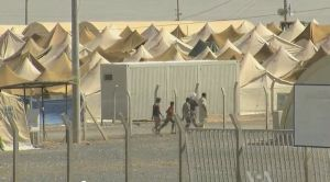 Syrian refugee center - Turkish border
