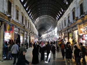 Al-Hamidiyah Souq, Damascus, Syria by Bernard Gagnon