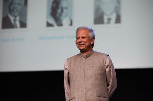 Professor Yunus at One Young World