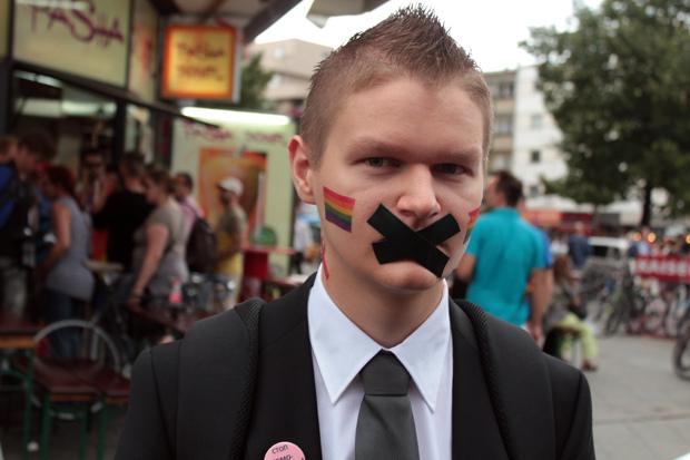 Stop Homophobia, Berlin