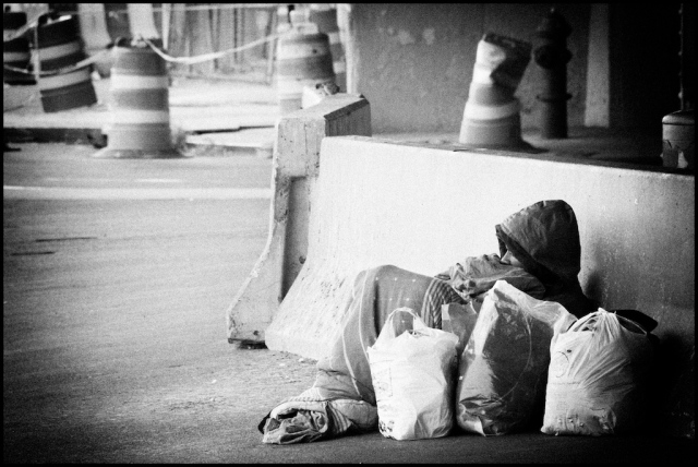 Homeless in New York - 2008